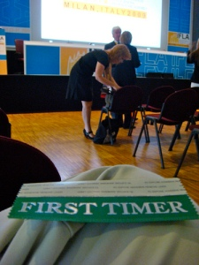 Ifla 2009 | First timer